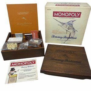 Tommy Bahama 20th Anniversary Edition Monopoly Game